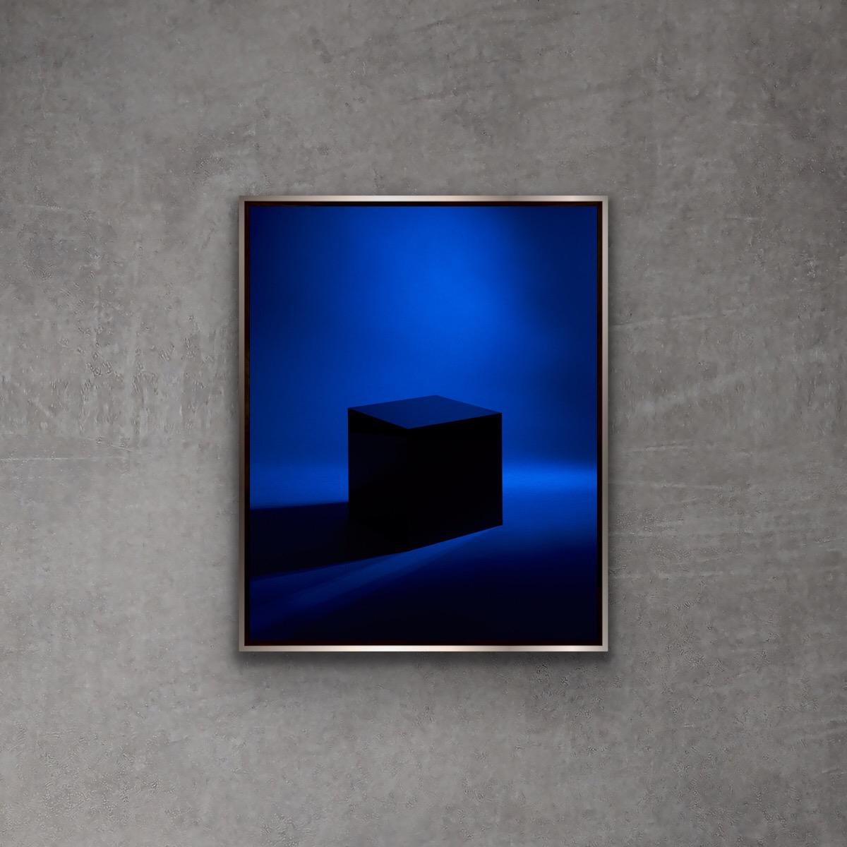 BLOCK by Grete Hjorth-Johansen, on a concrete wall