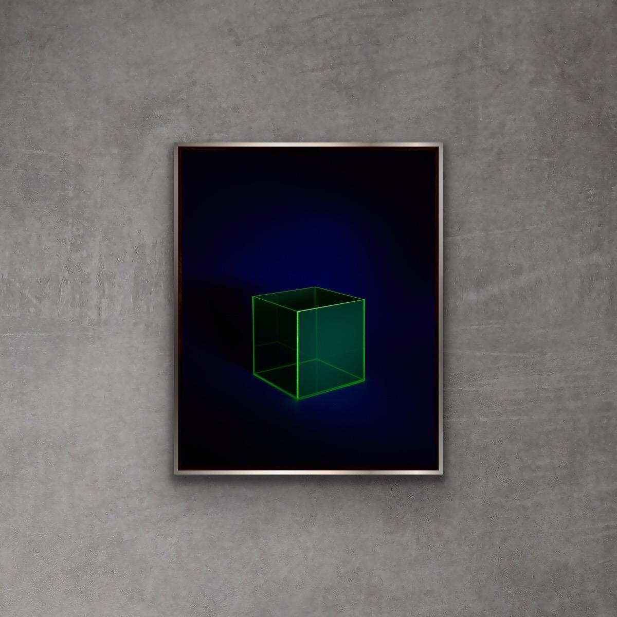 VOID by Grete Hjorth-Johansen, on a concrete wall